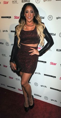 Natalie Nunn Star Magazines Hollywood Rocks event