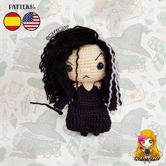 Halloween Crochet Patterns, Crochet Disney, Crochet Dolls Free Patterns, Crochet Amigurumi Free Patterns, Crochet Geek, Crochet Designs, Crochet Crafts, Crochet Toys, Crochet Projects