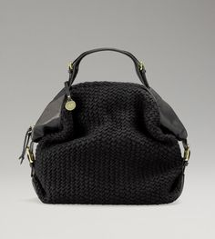 Womens Knit Zip Satchel By UGG Australia.....yes i believe i need this in charcoal please