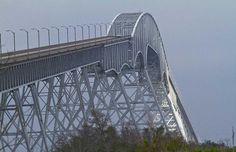 Port Arthur, TX /Orange Bridge Tallest bridge in the South. Did my driver's ed over this bridge! :)