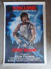 First Blood (1982) Original 40x60 Movie Poster Rambo - 1982, 40x60, BLOOD, FIRST, Movie, ORIGINAL, Poster, RAMBO