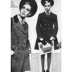 Vogue UK, September 1967 - Twiggy photographed by... ❤ liked on Polyvore