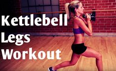 BodyFit by Amy Workout: Kettlebell Legs Workout Routine.