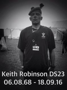 HE was a mixed-race Celtic fan credited with founding the rave movement in Glasgow during the early 1990s. Keith Robinson was a leading member of the Desert Storm Soundsystem – a group of larger th…