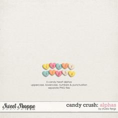 Candy Crush: CANDY ALPHAS by Studio Flergs