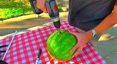 Watermelon smoothie hack