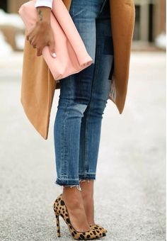 Jeans and a heel - adding some elegance to something generally quite casual