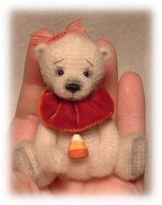 my bears are minis a little over 2 inches tall