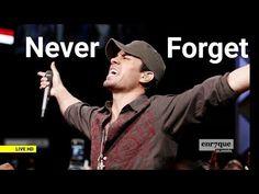 Enrique Iglesias - Nunca Te Olvidaré (multi-lang lyrics, best of all times) Enrique Iglesias Albums, Forever Life, Spanish Songs, Romantic Music, Live Hd, Never Forget You, Tupac Shakur, Fifa, Youtube