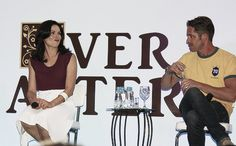 Lana and Sean's panel #EverAfter
