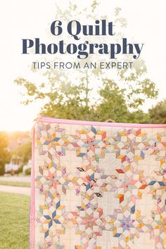 6 quilt photography tips from an expert! How to take photos of your quilts with just an iPhone! suzyquilts.com #quiltphotography Quilting Tips, Quilt Tutorials, Suzy, How To Take Photos, Photography Tips, Online Business, Quilts, Iphone, Fabric