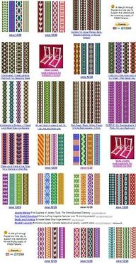 images of free bead patterns for the loom wallpaper