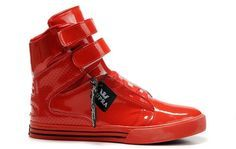 Supra Justin Bieber TK Society Red Perf Sneakers,New Style Fashion Justin Bieber…