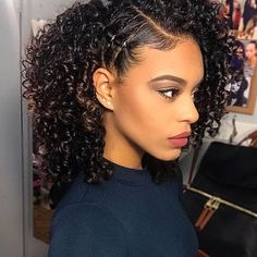 Cute Hairstyles for Naturally Curly Hair Curly Haircuts Black Natural Curly Hairstyles source : Africanamericanhairstyling Cute Hairstyles, Braided Hairstyles, Curly Haircuts, Natural Curly Hairstyles, Hairstyles 2016, Black Hairstyles, French Hairstyles, Naturally Curly Hair Styles Updo, Latest Hairstyles