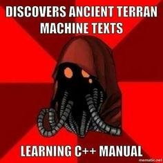 Tech priest meme