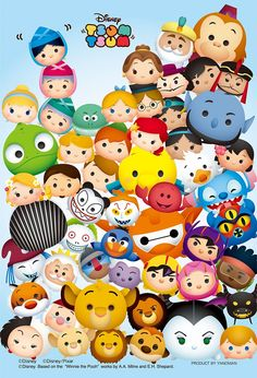 Disney Tsum Tsum now in this board!