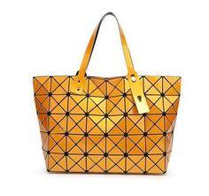 99cfed0cc2 Maelove Hologram Bag Women s Geometry Lattice Diamond Tote Shoulder Bag  hologram laser bag famous logo bag Free Shipping