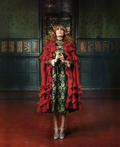 Baroque and Roll: Florence Welch Talks Fashion, Music and Being the Face of Gucci - Florence Welch for Gucci