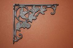 Winery Design Theme Decor, Wine Room, Wine Shelf Brackets Corbels,Cast Iron,B-12 #Unbranded #DecorativeShelfBracket