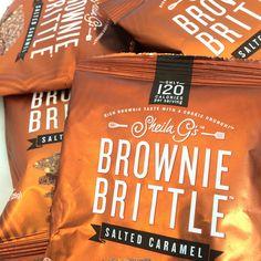 Salted Caramel Brownie Brittle 1oz Case (42-pack) | Brownie Brittle, LLC