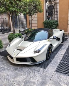 Ferrari's best road car ever made?🤔🌪 ———————————— Unaffiliated with Ferrari. Luxury Sports Cars, Top Luxury Cars, Exotic Sports Cars, Cool Sports Cars, Sport Cars, Exotic Cars, Cool Cars, Ferrari Laferrari, Carros Lamborghini