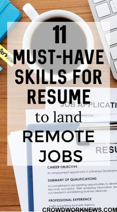 Resume skills - 11 Top Skills for Resume to Land Remote Jobs – Resume skills Job Resume, Resume Tips, Skills For Resume, Resume Ideas, Computer Skills Resume, Resume Help, Student Resume, Job Interview Questions, Job Interview Tips
