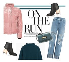 """""""On the Run"""" by euphemiasun97 ❤ liked on Polyvore featuring SJYP, Max&Co., Topshop, Alexander Wang and Loewe"""
