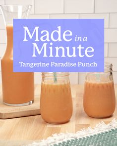 Take yourself to an oasis of flavors with this sweet yet tart tangerine punch. It's so delightful, you might just find yourself on a beach in paradise. Diy Soap Easy, Aromatherapy Recipes, Cocktails, Doterra Essential Oils, Aesthetic Food, Healthy Treats, Yummy Snacks, Oasis, Paradise