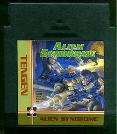 http://videogamesideas.info/alien-syndrome/ - The battle between flesh and slime. The extra-terrestrials in this game are anything but friendly. They're slimy monsters that are...