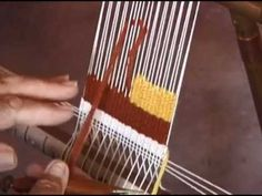 Woven Tapestry Techniques - Brennan-Maffei.com (15:53)
