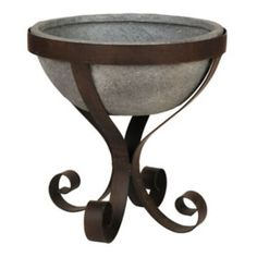 Concrete Goblet Planter | Kirklands