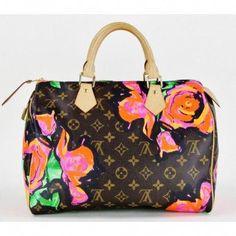 a7877cb2dd30 Louis Vuitton Limited Edition Stephen Sprouse Roses Speedy 30 Bag  Louisvuittonhandbags  Louis Vuitton Speedy