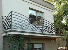 Image result for nowoczesne ogrodzenia Balcony Grill Design, Balcony Railing Design, Window Grill Design, Metal Railings, Staircase Railings, Stairways, Tor Design, Gate Design, House Design