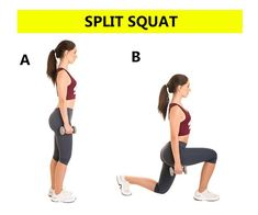 Top 5 Squats Variations for Booty, Legs & Abs - Squats Workout plan - Weight Loss Pin Slim Legs Workout, Basic Workout, Squat Workout, Workout Warm Up, Body Squats, Squat Variations, Everyday Workout, Split Squat, Squat Challenge