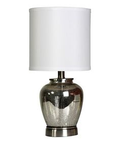 Look what I found on #zulily! Small Silver Lamp #zulilyfinds