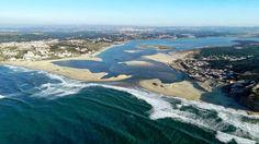 Foz do Arelho e Lagoa de Óbidos, Caldas da Rainha - Portugal