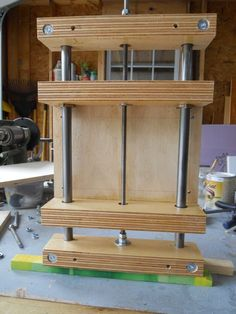 Router Lift - by Henri Monnier @ LumberJocks.com ~ woodworking community