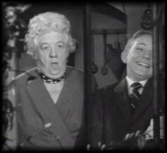 (1961) 'Murder She Said' with Margaret Rutherford and Ronnie Raymond as Miss Marple and Alexander Eastley.