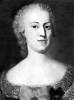 Maria Anna Franziska Kolowrath-Krakowski, Gräfin Brühl  (1717-1762), Ehefrau von Heinrich Graf von Brühl
