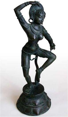 Chinese Tibet Buddhism old Bronze gilt Vajra Dakinis dakini Bodhisattva statue
