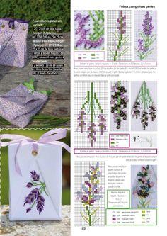 Die 349 Besten Bilder Von Kreuzstich Stickerei Lavendel Point De