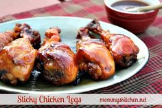 Mommy's Kitchen - Home Cooking & Family Friendly Recipes: Peanut Butter Pie & Sticky Chicken Legs + A Cookbook Review