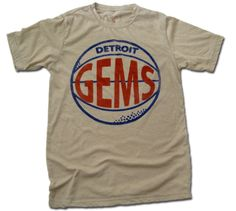 ab3d8a7bda0b Detroit Gems 1946-47 Vintage Sportswear