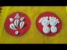 Simple Rangoli Border Designs, Rangoli Simple, Indian Rangoli Designs, Rangoli Designs Latest, Rangoli Designs Flower, Free Hand Rangoli Design, Small Rangoli Design, Colorful Rangoli Designs, Rangoli Ideas