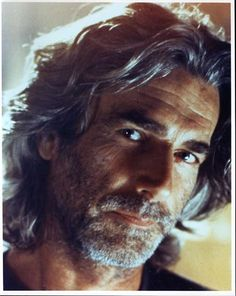 Sam Elliott - only a few men can make long gray scruffiness look this hot!!