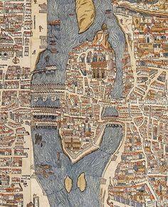 Map.. C1550.