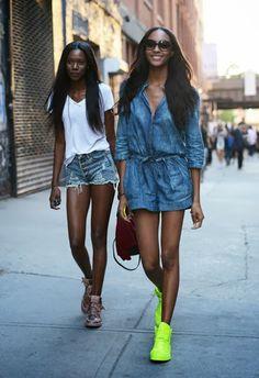 Sreet Style- New York Fashion Week Primavera Verano 2014.