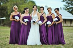 Love this classic look on the bride & Maids by Total brides hair & makeup
