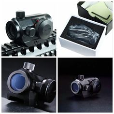 Hunting Rifle Red Dot Scope Tactical Holographic Red Green Dot Sight Scope Rail Mount 20mm Chasse Caza luneta para rifle