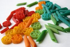 Colored pasta how-to